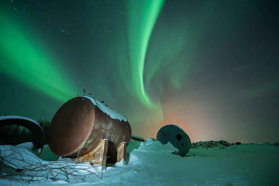 Churchill northern lights
