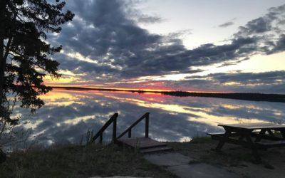 Churchill Weekly Photo – Whati Sunset